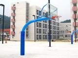 弧型埋地玻璃篮架