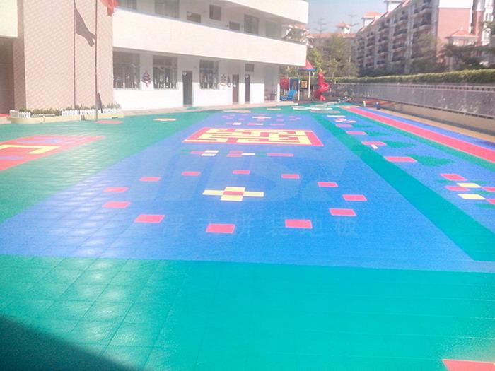 幼儿园,运动场快速拼装地板